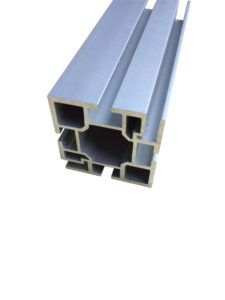 40mm Fabric Square Aluminum Extrusion With 2 Grooves Canwil Textiles