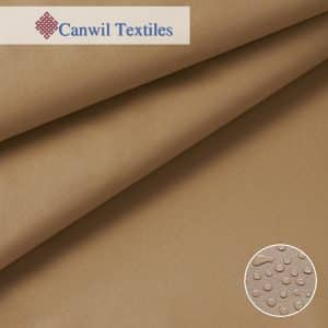 Coated Polycotton Awning Canvas Tan